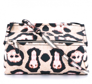 Givenchy Leopard Print Leather Mini Pandora Bag