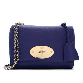 Mulberry Small Royal Blue Lily Bag