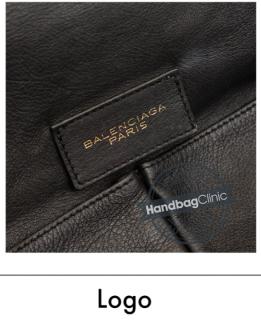 Balenciaga Black A4 Papier Tote Bag
