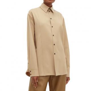 Jil Sander Linen-twill shirt