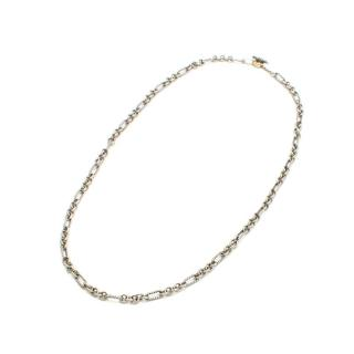 David Yurman Sterling Silver Figaro Cable Necklace