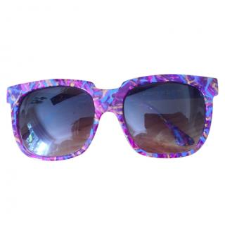 Thierry Lasry Purple Attracty Sunglasses
