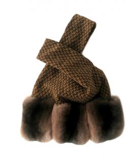 FurbySD Chinchilla Fur Sac Bag