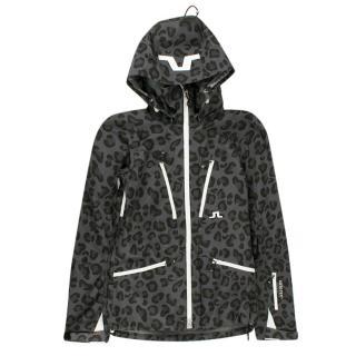 J.Lindeberg Cheetah Printed Ski Jacket