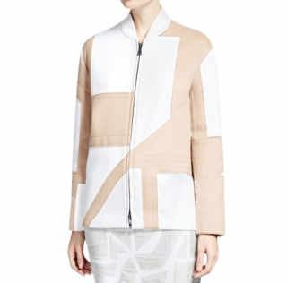 Max Mara x LiuWei Metropolis Collection Patchwork Jacket