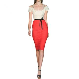 Roland Mouret Colour-Block Herbert Dress