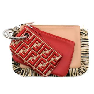 Fendi Triplette Wallet Set