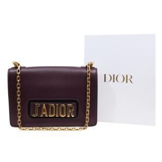 Dior Burgundy J'Adior Shoulder Bag