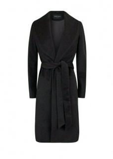 Emel + Aris Grey Wool & Cashmere Wrap Smart Coat