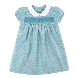 Cairenn Foy Poppy Style Blue Floral Dress