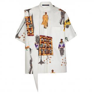 Louis Vuitton Walkers Neck Bandana Short Sleeved Shirt - Sold Out