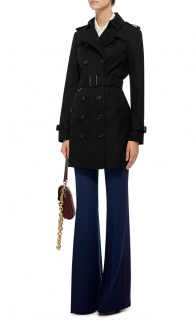 Burberry Sandringham Double Breasted Trench Coat