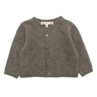 Bonpoint Cashmere Buttoned Cardigan