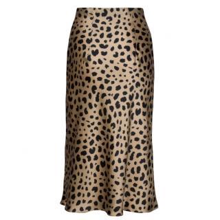 Realisation Naomi 'Wild Things' leopard print skirt