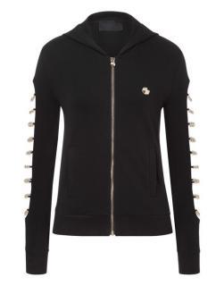Philipp Plein Chain Detail Hooded Jacket