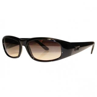 Gucci vintage black g1p sunglasses