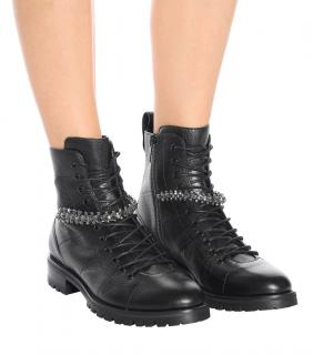 Jimmy Choo Embellished Cruz Boots