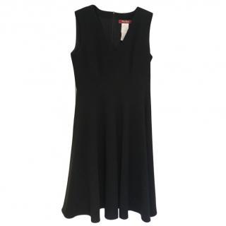 Max Mara Black A-Line Dress