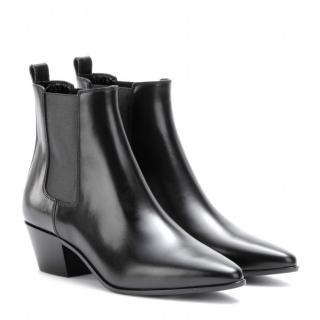 SAINT LAURENT Rock Western Ankle Boots