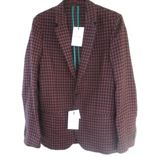 Paul Smith Check Tailored Fit Blazer