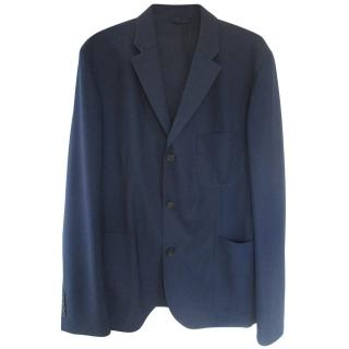 Stella McCartney Men's Navy Wool Jacket