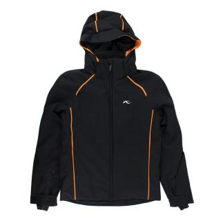 ]Kjus Formula 10Yrs Black/Orange Ski Jacket