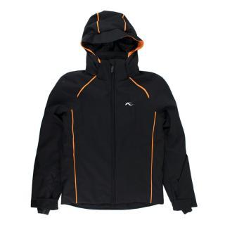]Kjus Formula 10Yrs Black/Orange Ski Jacket