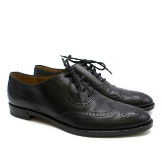 Ralph Lauren Collection Black Leather Brogues