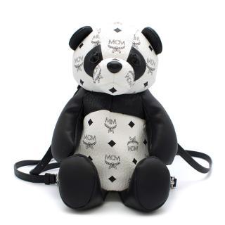 MCM Zoo Panda Black & White Backpack