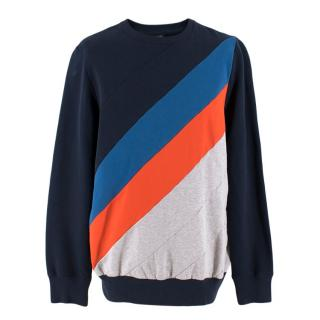 Ron Dorff Colourblock Panelled Sweater