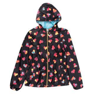 Moschino 14Y Heart Print Rain Jacket