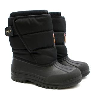 Polo Ralph Lauren Black Snow Boots