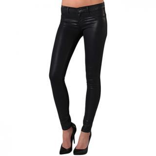 J Brand skinny coated leggings