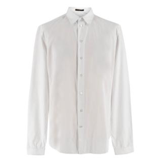 Louis Vuitton White Pleated Shirt