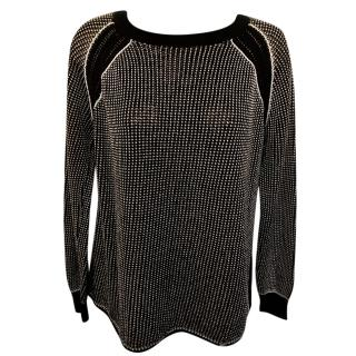 Liujo Tweed Knit Top