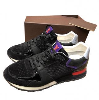 Louis Vuitton Black Suede Runaway Sneakers
