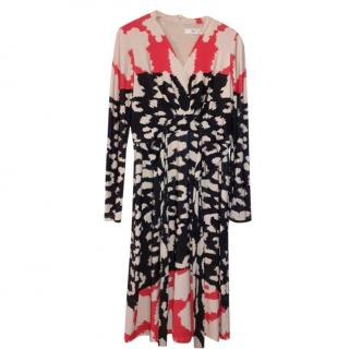 Issa Printed Wrap Dress