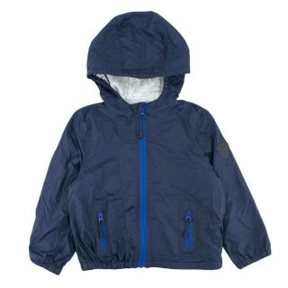Bonpoint Kids 4y Navy Zip-up rain jacket