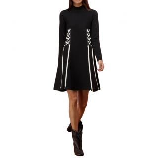 Sportmax Black Nias Wool Dress