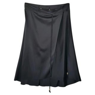 Baleniaga Black Wrap Skirt
