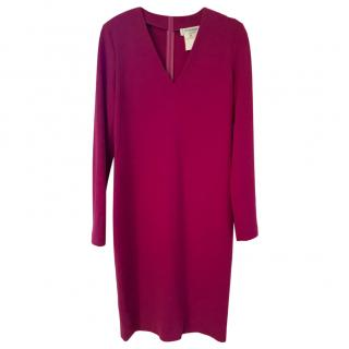 Yves Saint Laurent Cerise Pink Shift Dress, size 38