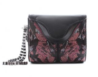Alexander McQueen Black & Pink Mini Box Wristlet