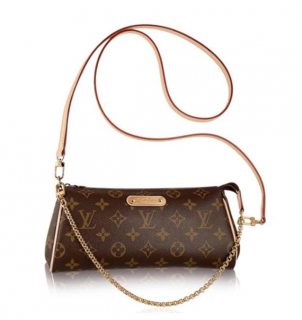 Louis Vuitton Eva Monogram Crossbody Chain Clutch