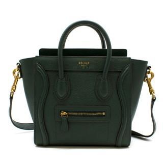 Celine Nano Leather Luggage Bag In Amazon