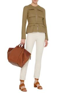 Giambattista Valli Khaki Flap Pocket Jacket