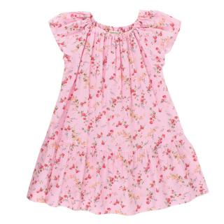 Bonpoint 3Y Pink Floral Print Dress
