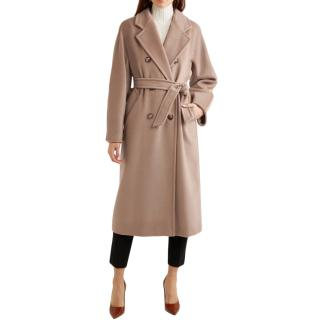 Max Mara 101801 Icon double-breasted wool and cashmere coat
