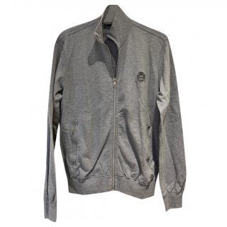 Dolce & Gabbana Mens Grey Zip Up Jumper