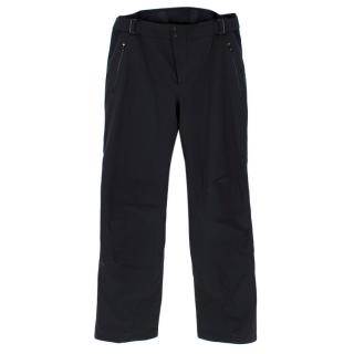 Kjus Black Ski Trousers