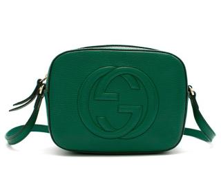 Gucci Emerald Soho Leather Disco Bag